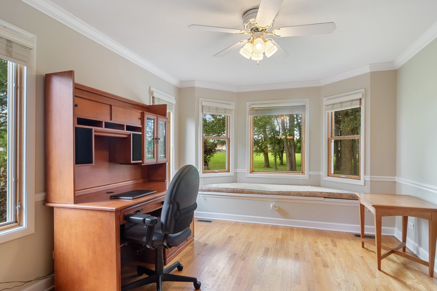 Real Estate Photography - 1118 Larraway Dr, Buffalo Grove, IL, 60089 - Office