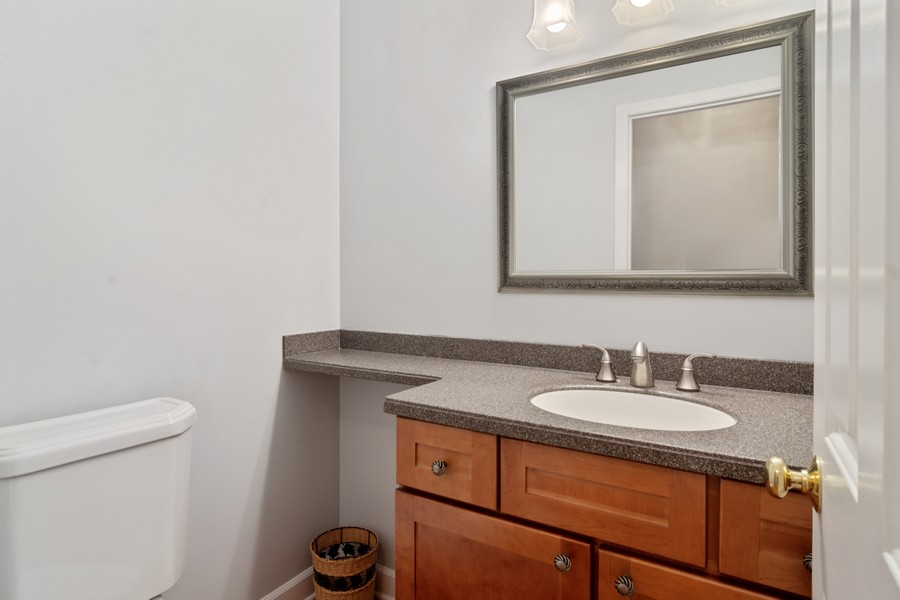 Real Estate Photography - 1118 Larraway Dr, Buffalo Grove, IL, 60089 - First Floor Powder Room