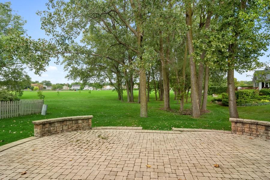 Real Estate Photography - 1118 Larraway Dr, Buffalo Grove, IL, 60089 - Stone Patio