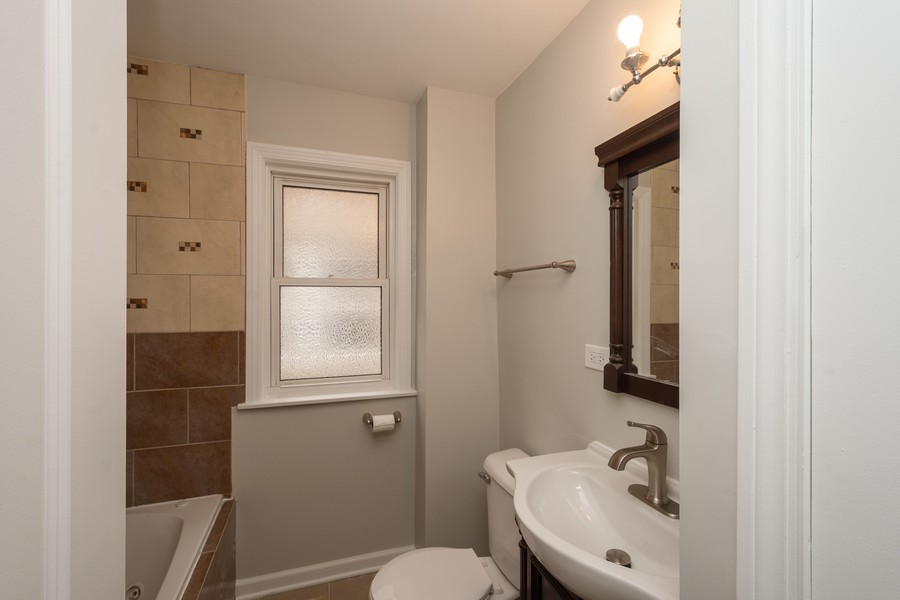 Real Estate Photography - 5542 S Nagle, Chicago, IL, 60638 - Bathroom