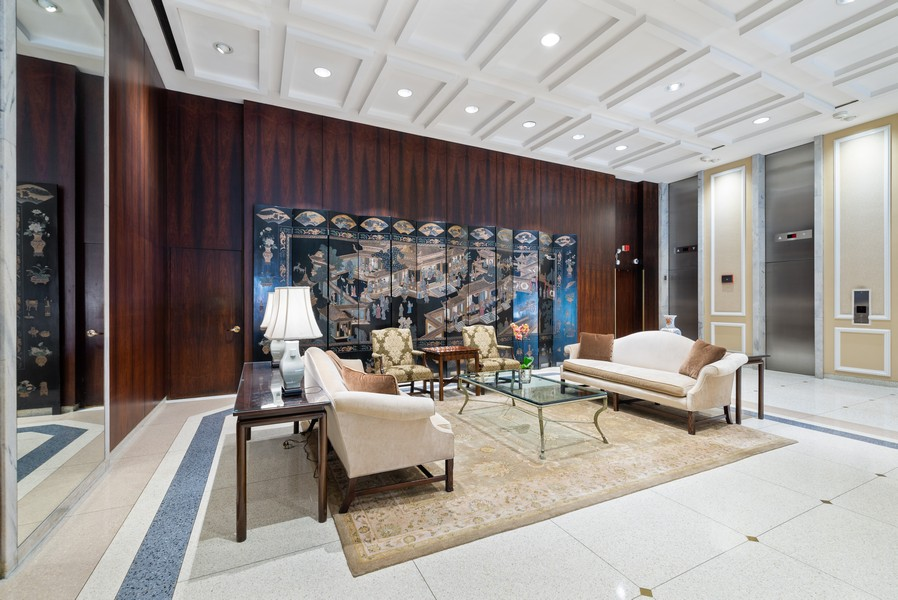 Real Estate Photography - 777 N Michigan Ave, 2506, Chicago, IL, 60611 - Lobby