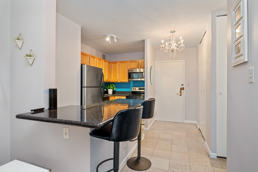 Real Estate Photography - 777 N Michigan Ave, 2506, Chicago, IL, 60611 - Kitchen