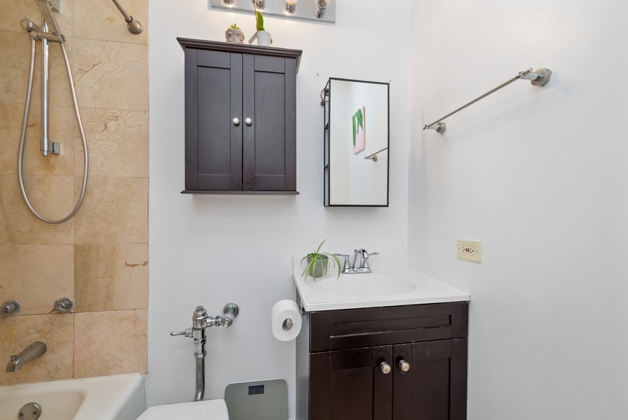 Real Estate Photography - 777 N Michigan Ave, 2506, Chicago, IL, 60611 - Bathroom