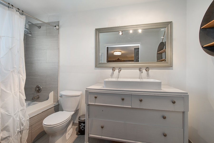 Real Estate Photography - 1209 S Division St, Barrington, IL, 60010 - Master Bathroom