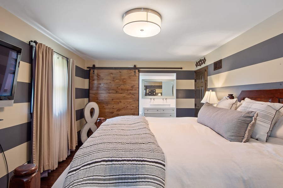 Real Estate Photography - 1209 S Division St, Barrington, IL, 60010 - Master Bedroom