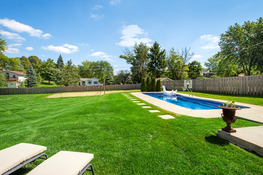 Real Estate Photography - 1209 S Division St, Barrington, IL, 60010 - Back Yard