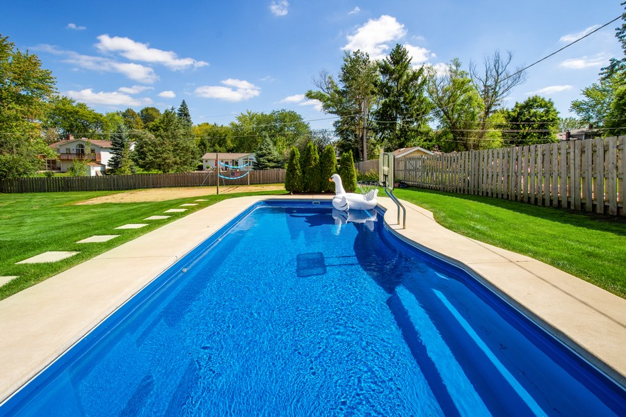 Real Estate Photography - 1209 S Division St, Barrington, IL, 60010 - Pool