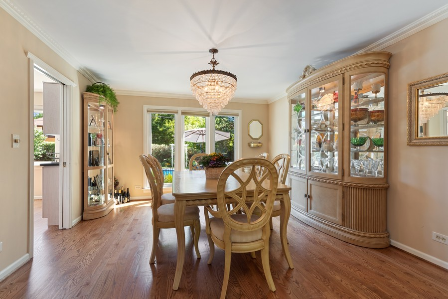 Real Estate Photography - 552 Hunter, Wilmette, IL, 60091 - Dining Room