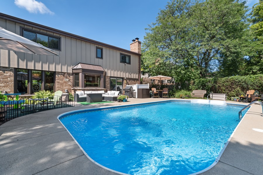 Real Estate Photography - 552 Hunter, Wilmette, IL, 60091 - Back Yard