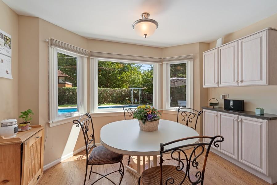 Real Estate Photography - 552 Hunter, Wilmette, IL, 60091 - Breakfast Area
