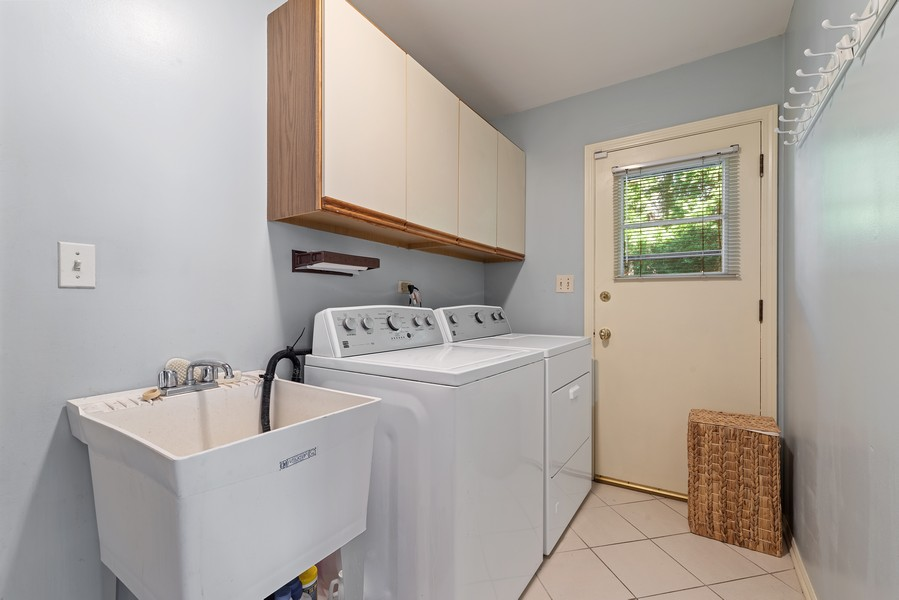 Real Estate Photography - 552 Hunter, Wilmette, IL, 60091 - Laundry Room