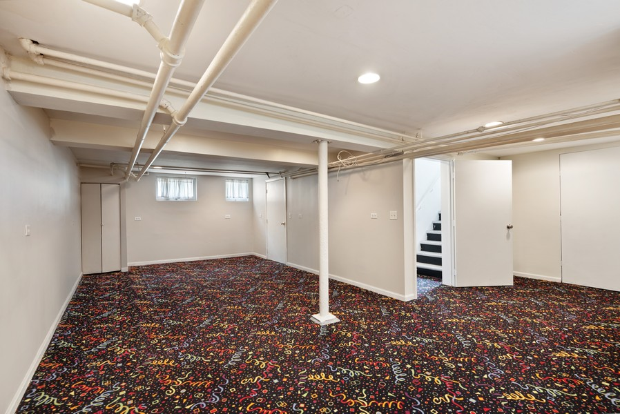 Real Estate Photography - 102 5th St, Wilmette, IL, 60091 - Recreational Room