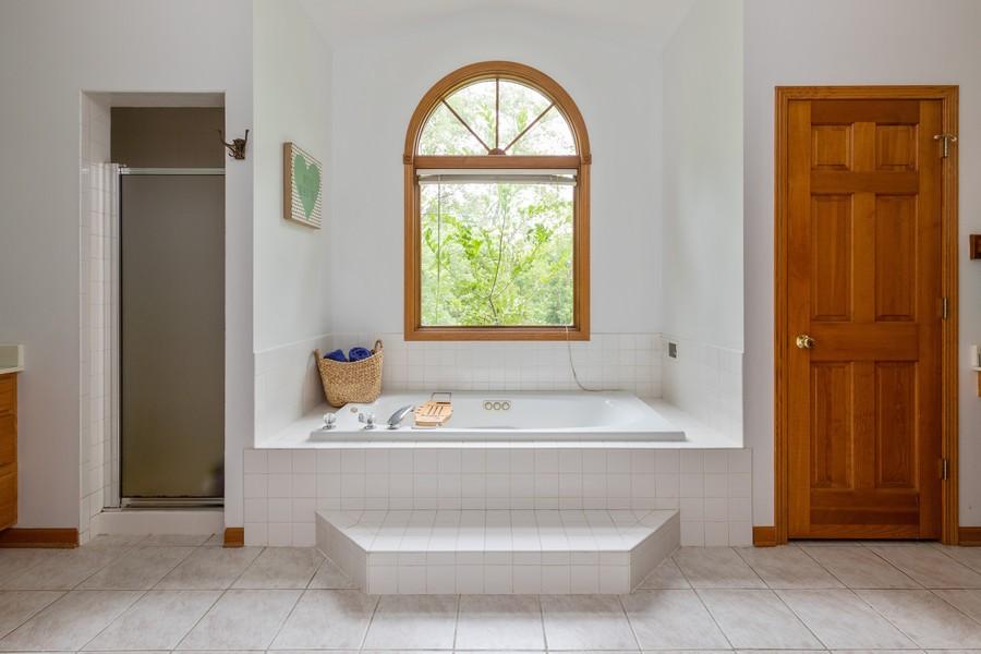 Real Estate Photography - 11357 W Leland, Beach Park, IL, 60099 - Master Bathroom