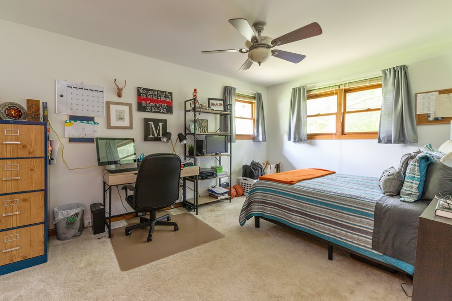 Real Estate Photography - 11357 W Leland, Beach Park, IL, 60099 - 2nd Bedroom