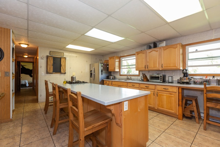 Real Estate Photography - 32749 S State Route 53, Wilmington, IL, 60481 - Kitchen