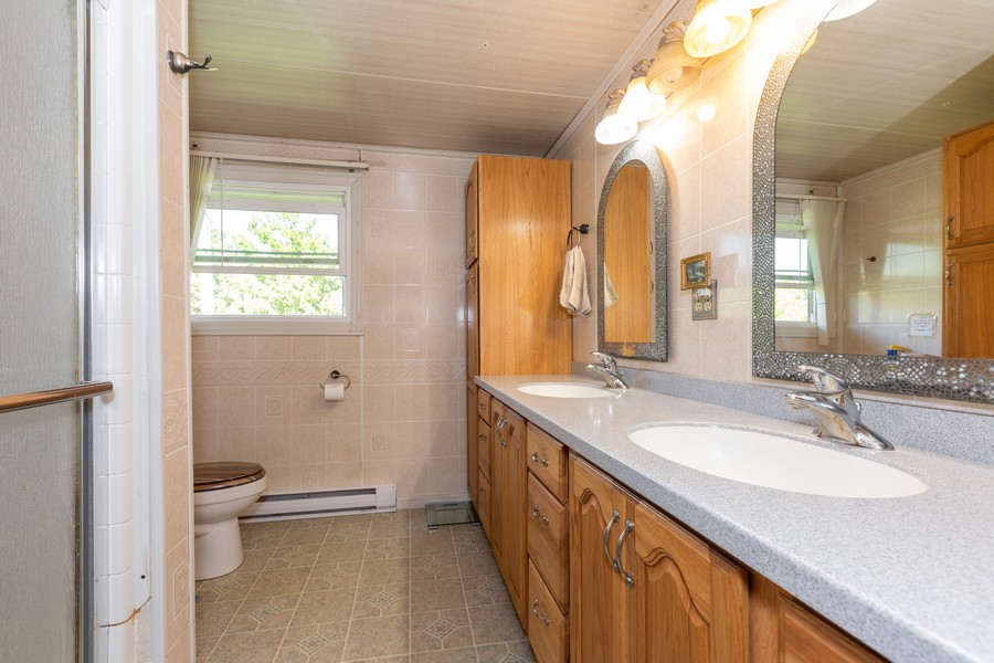 Real Estate Photography - 32749 S State Route 53, Wilmington, IL, 60481 - Bathroom