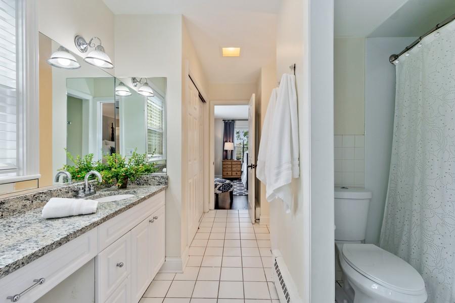 Real Estate Photography - 314 Otis Rd, Barrington, IL, 60010 - Jack & Jill Bathroom