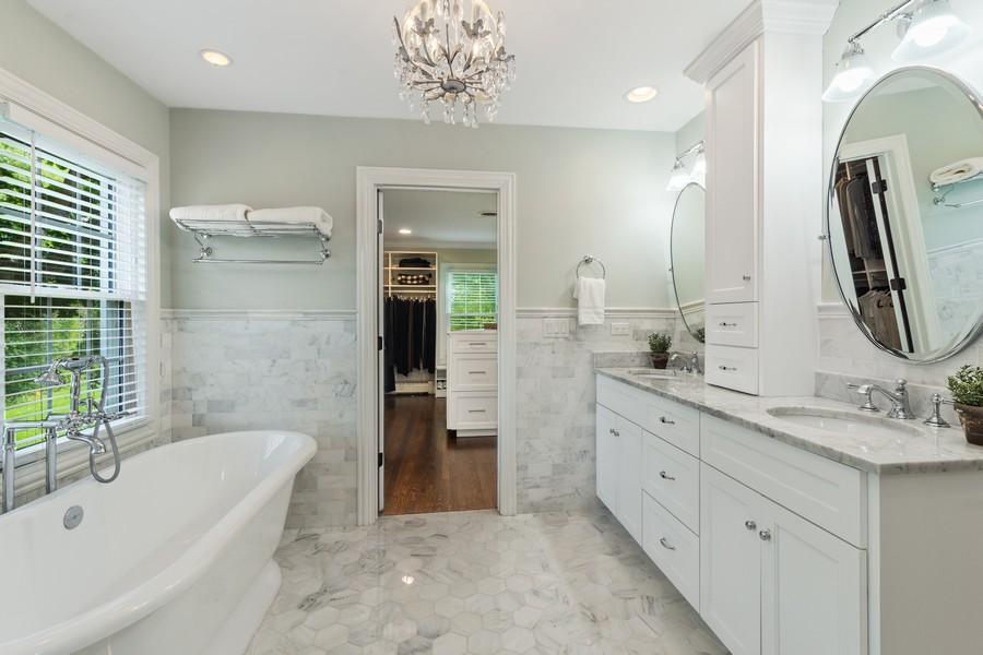 Real Estate Photography - 314 Otis Rd, Barrington, IL, 60010 - Master Bathroom