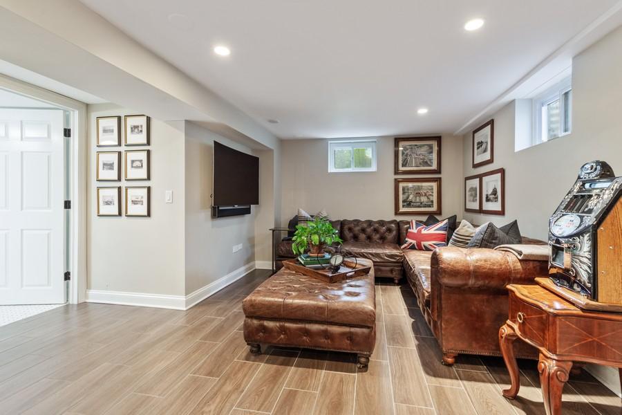 Real Estate Photography - 314 Otis Rd, Barrington, IL, 60010 - Recreation Room