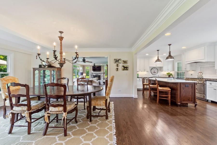 Real Estate Photography - 314 Otis Rd, Barrington, IL, 60010 - Dining Room