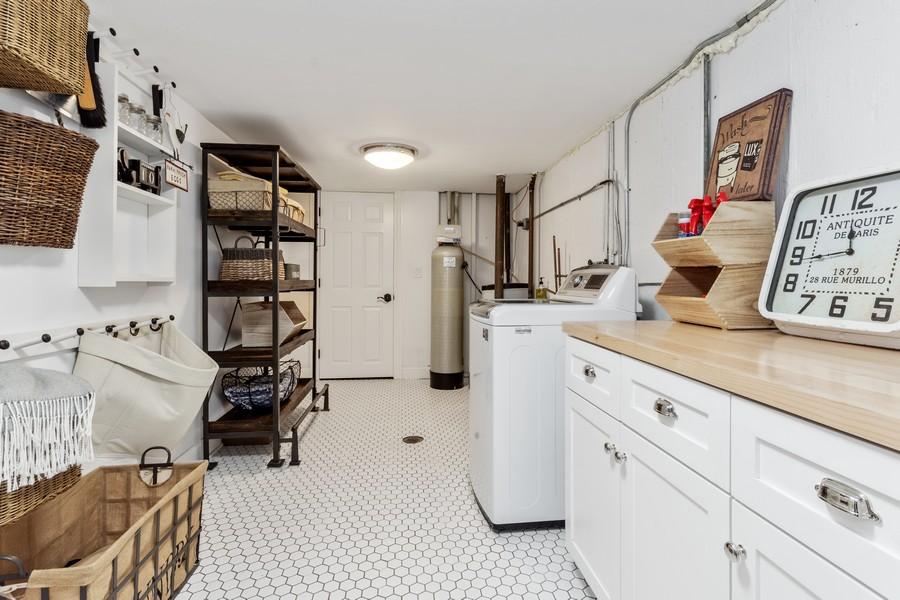 Real Estate Photography - 314 Otis Rd, Barrington, IL, 60010 - Laundry Room