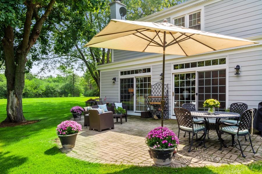 Real Estate Photography - 314 Otis Rd, Barrington, IL, 60010 - Patio