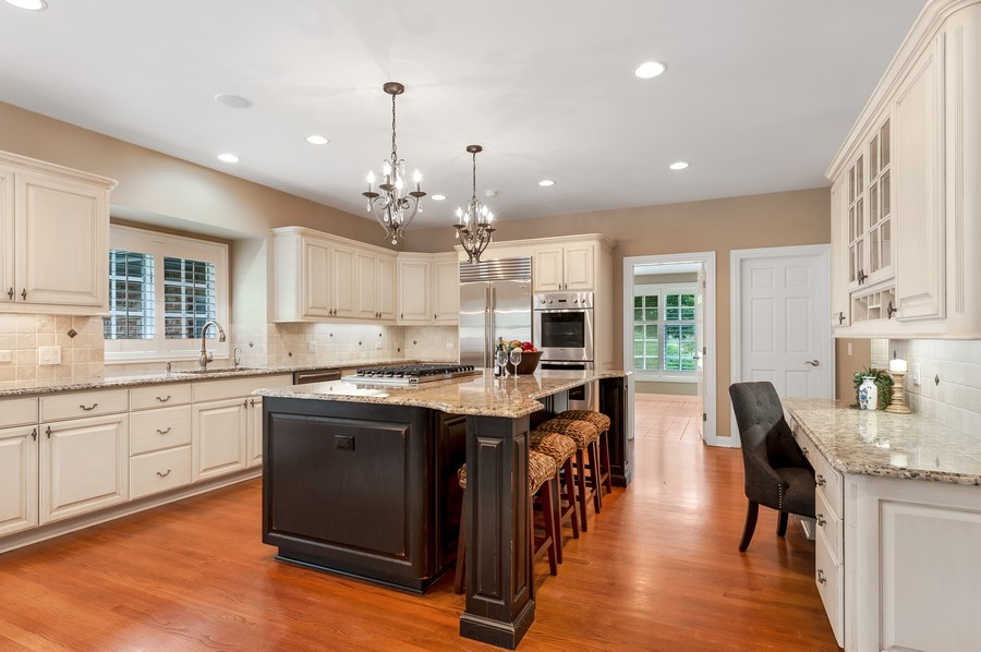 Real Estate Photography - 1215 Golf Rd, Libertyville, IL, 60048 - Kitchen