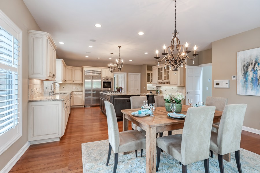 Real Estate Photography - 1215 Golf Rd, Libertyville, IL, 60048 - Kitchen / Breakfast Room