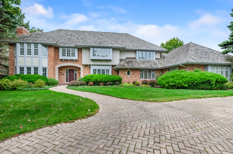 Real Estate Photography - 1215 Golf Rd, Libertyville, IL, 60048 - Front View
