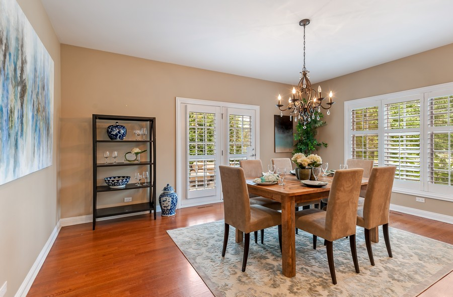 Real Estate Photography - 1215 Golf Rd, Libertyville, IL, 60048 - Breakfast Area