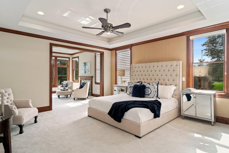 Real Estate Photography - 1335 Calcutta Ln, Naperville, IL, 60563 - 1st Floor Master Suite