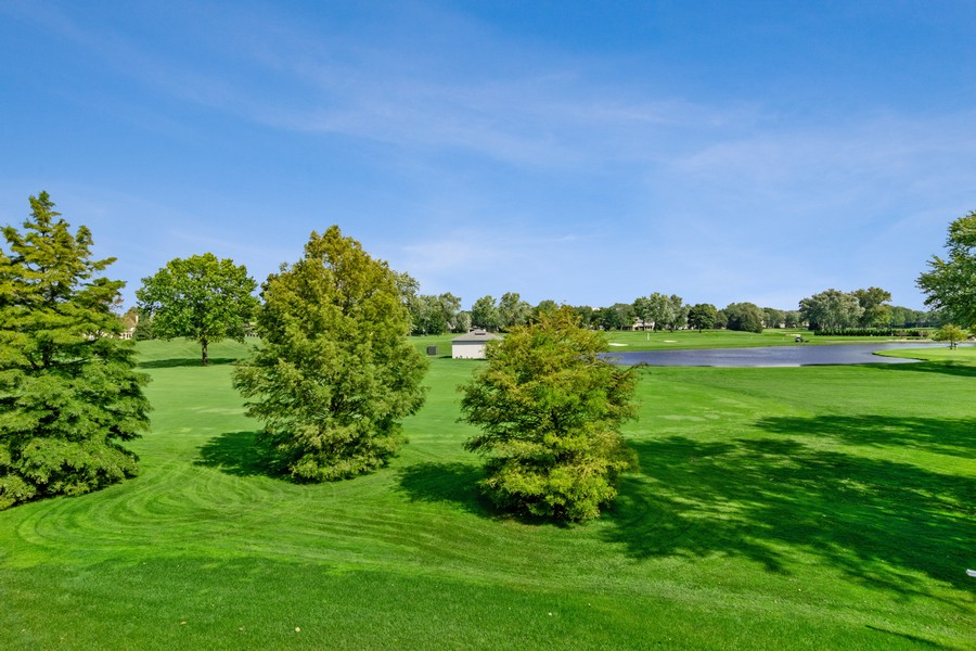 Real Estate Photography - 1335 Calcutta Ln, Naperville, IL, 60563 - Golf Course View