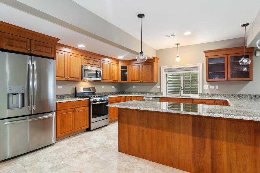 Real Estate Photography - 1335 Calcutta Ln, Naperville, IL, 60563 - 2nd Kitchen (Basement)
