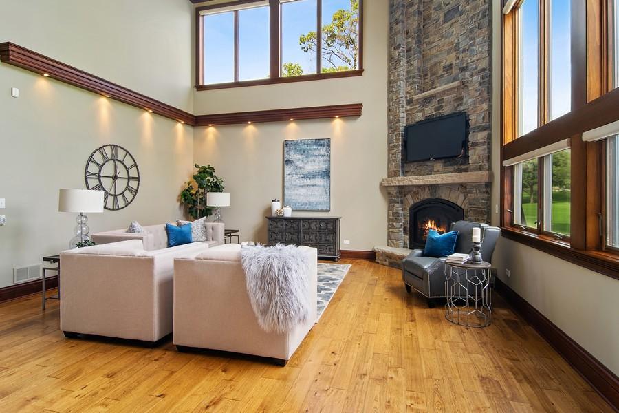 Real Estate Photography - 1335 Calcutta Ln, Naperville, IL, 60563 - Great Room