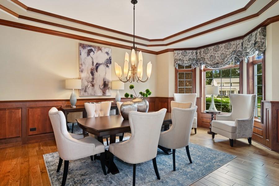 Real Estate Photography - 1335 Calcutta Ln, Naperville, IL, 60563 - Dining Room