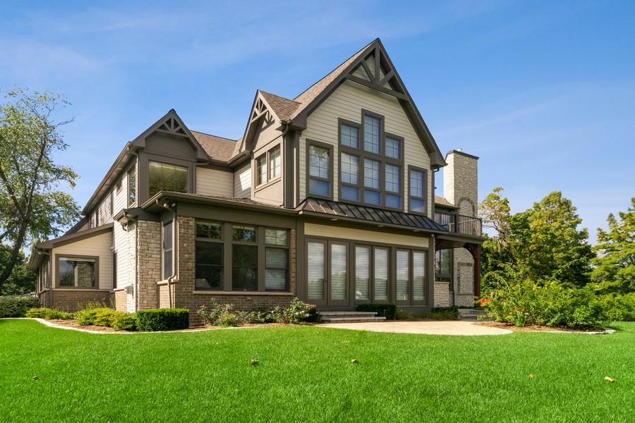 Real Estate Photography - 1335 Calcutta Ln, Naperville, IL, 60563 - Rear View