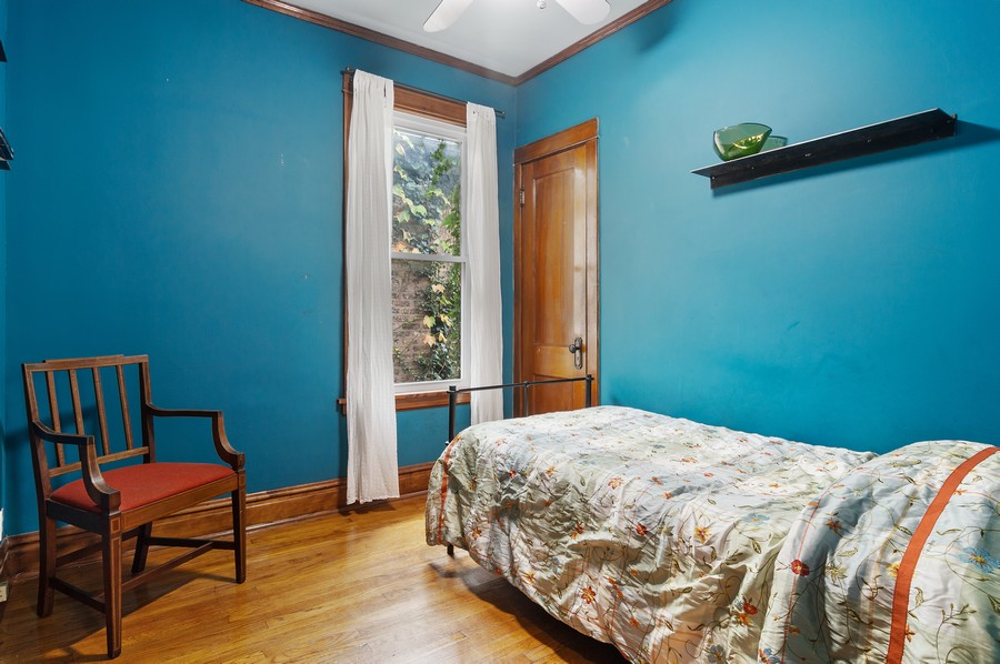 Real Estate Photography - 5029 N Sawyer Ave, Chicago, IL, 60625 - 3rd Bedroom