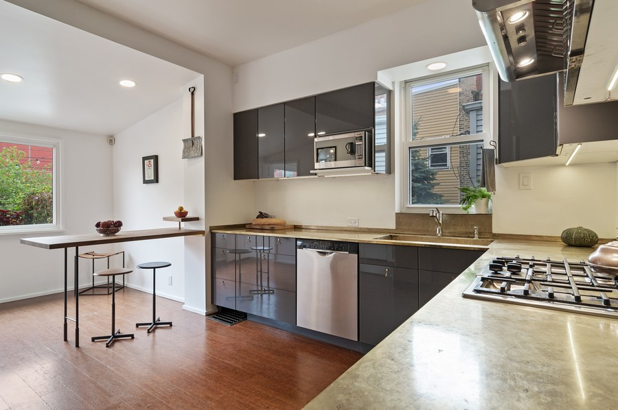 Real Estate Photography - 5029 N Sawyer Ave, Chicago, IL, 60625 - Kitchen
