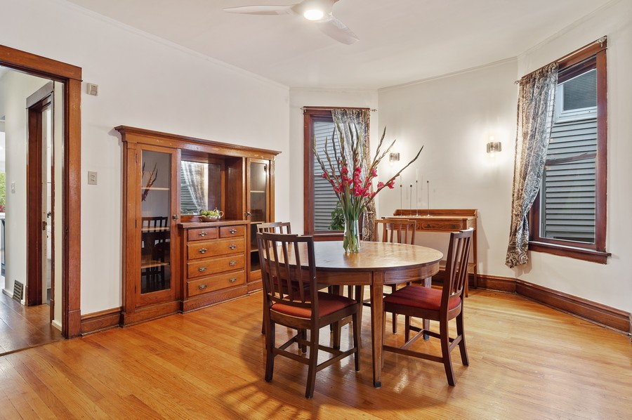 Real Estate Photography - 5029 N Sawyer Ave, Chicago, IL, 60625 - Dining Room