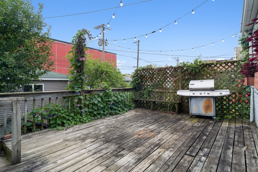 Real Estate Photography - 5029 N Sawyer Ave, Chicago, IL, 60625 - Deck