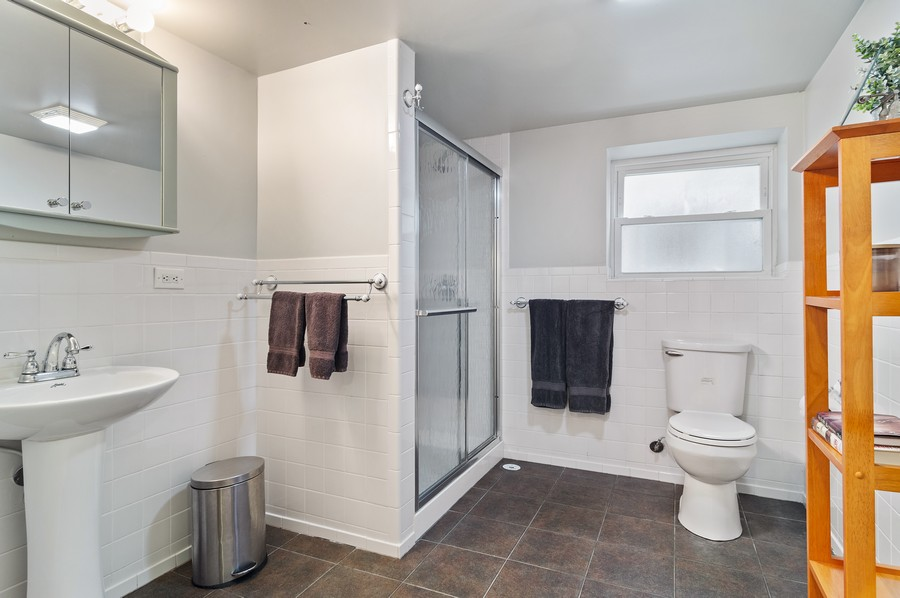 Real Estate Photography - 5029 N Sawyer Ave, Chicago, IL, 60625 - Bathroom