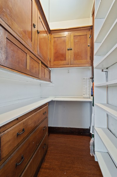Real Estate Photography - 5029 N Sawyer Ave, Chicago, IL, 60625 - Pantry