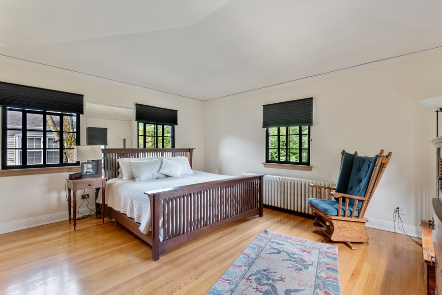 Real Estate Photography - 3545 Golf Rd, Evanston, IL, 60203 - Master Bedroom