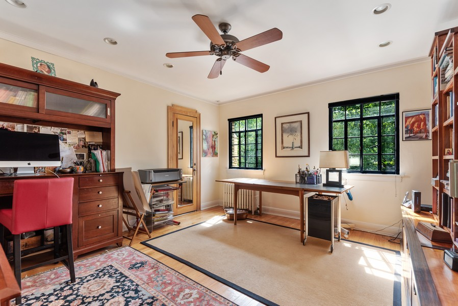 Real Estate Photography - 3545 Golf Rd, Evanston, IL, 60203 - 2nd Bedroom