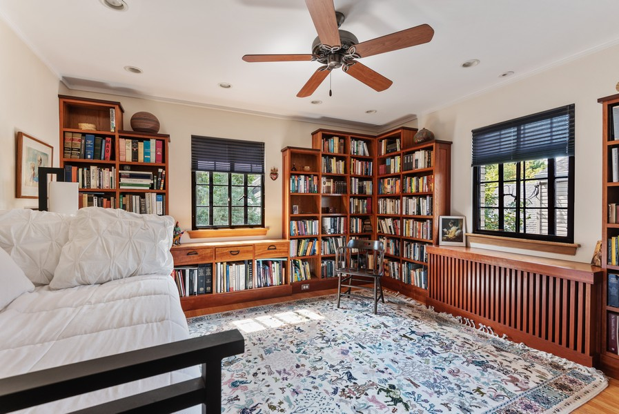 Real Estate Photography - 3545 Golf Rd, Evanston, IL, 60203 - 3rd Bedroom