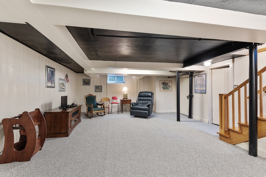 Real Estate Photography - 3545 Golf Rd, Evanston, IL, 60203 - Recreational Room