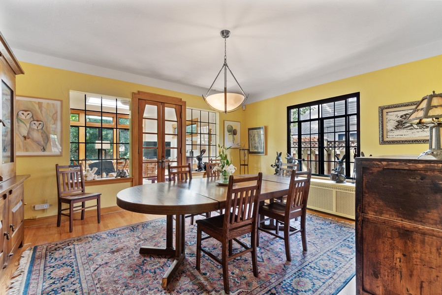 Real Estate Photography - 3545 Golf Rd, Evanston, IL, 60203 - Dining Room