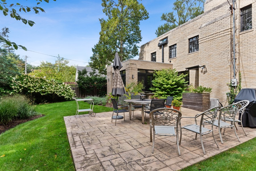 Real Estate Photography - 3545 Golf Rd, Evanston, IL, 60203 - Back Yard