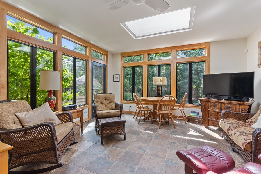 Real Estate Photography - 3545 Golf Rd, Evanston, IL, 60203 - Family Room
