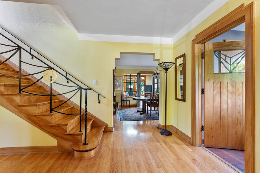 Real Estate Photography - 3545 Golf Rd, Evanston, IL, 60203 - Foyer